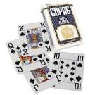 Copag 100% Plastic Poker Jumbo Index - Blå